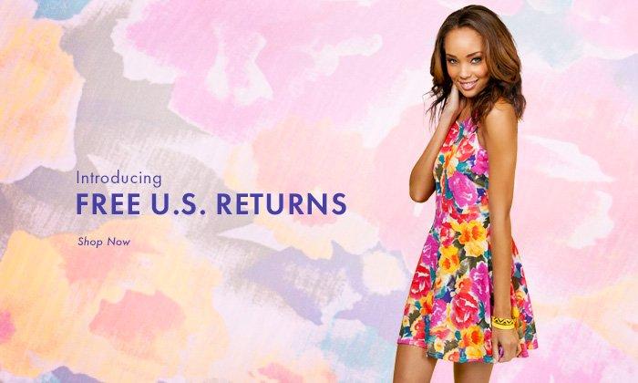 Introducing Free U.S. Returns