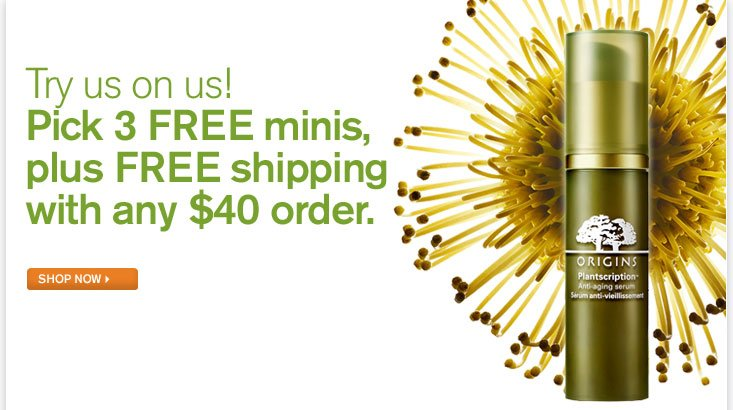Try us on us Take home 2 FREE samples throughout April No purchase necessary FIND A STORE