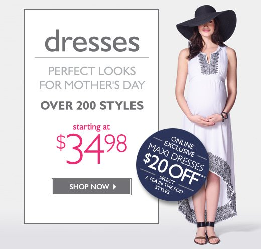 Dresses: Perfect looks for Mother's Day - Over 200 Styles