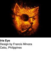 Irie Eye - Design by Francis Minoza / Cebu, Philippines