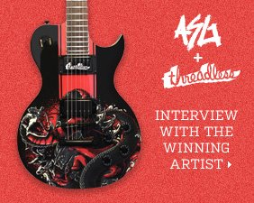 ASG + Threadless - Interview with the winning artist.