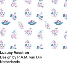 Luausy Vacation - Design by P.A.M. van Dijk / Netherlands