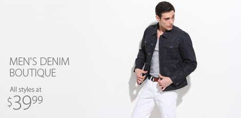 Men's Denim Boutique