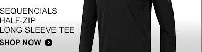 Shop Sequencials Half-Zip Long Sleeve Tee »