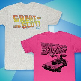 Back to the Future: Kids' Tees