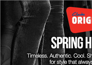 Timeless. Authentic. Cool. Shop our new spring collection for style that always defines the trend.