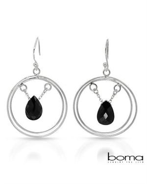 BOMA Ladies Earrings Designed In 925 Sterling Silver