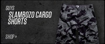 Shop Guys Slambozo Cargo Shorts