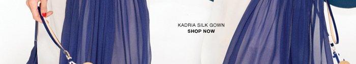 Shop the Kadria silk gown