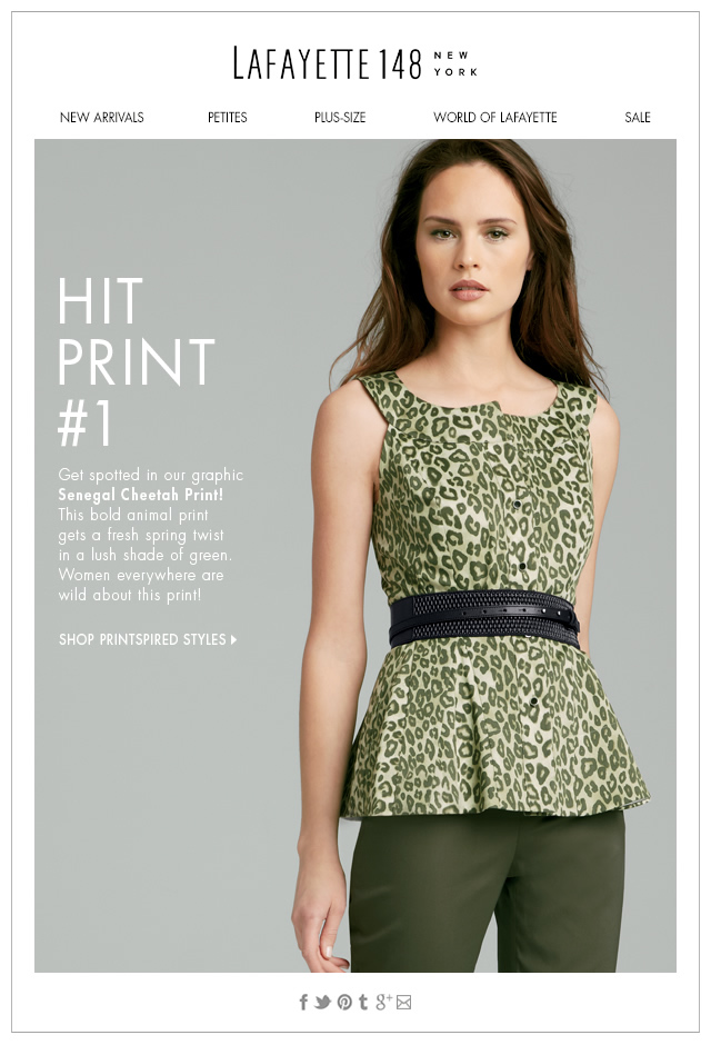 Spot-On Spring Style: Get Printspired!