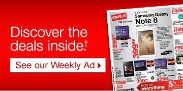 Discover the deals inside†. See our Weekly Ad.