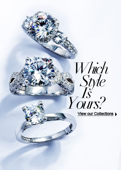 Which Style Is Yours? View Tacori Engagement Ring Collections