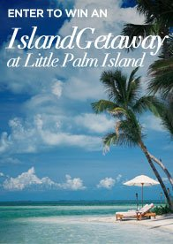 Like Us On Facebook To Enter To Win An Island Getaway at Little Palm Island
