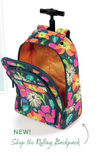 NEW! Shop the Rolling Backpack