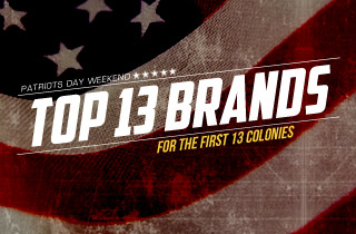 Top 13 Brands For The First 13 Colonies
