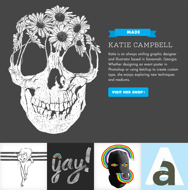 MADE - Katie Campbell - Visit her shop.
