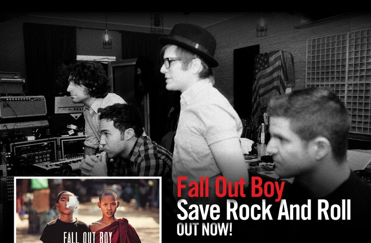 FALL OUT BOY - SAVE ROCK AND ROLL OUT NOW!