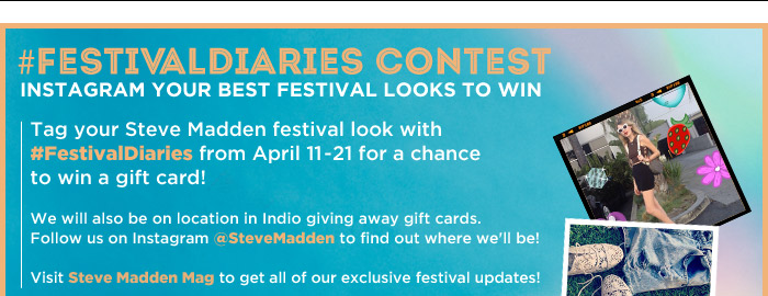 Check out our #FestivalDiaries Contest on Facebook