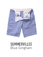 Blue Gingham Summervilles