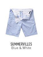Blue & White Summervilles