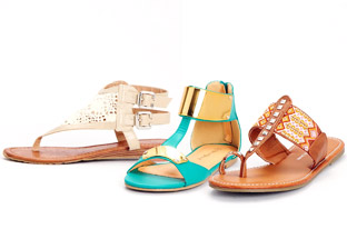 Springtime Staple: Sandals