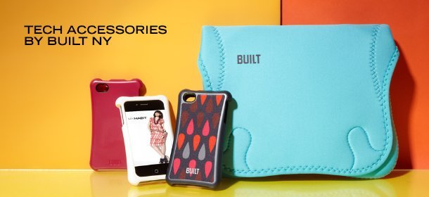 TECH ACCESSORIES BY BUILT NY, Event Ends April 19, 9:00 AM PT >
