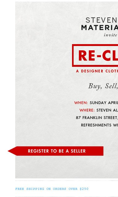 Register to Sell