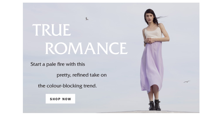 True Romance: Colour-blocking for Summer