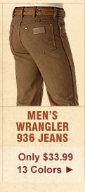 All Mens Wrangler 936 Jeans on Sale