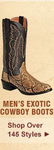 All Mens Exotic Cowboy Boots on Sale