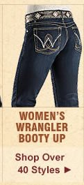 All Womens Wrangler Booty Up Jeans on Sale