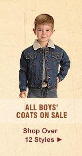 All Boys Coats on Sale