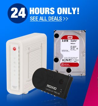 24 HOURS ONLY! See All Deals
