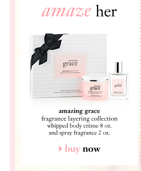 amaze her amazing grace fragrance layering collection whipped body creme 8 oz. and spray fragrance 2 oz. buy now