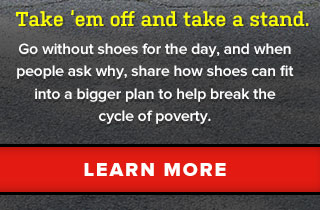 Take 'em off and take a stand. Learn More