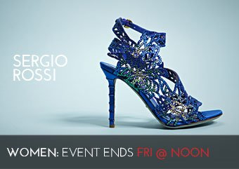 SERGIO ROSSI - WOMEN'S SHOES