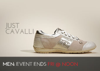 JUST CAVALLI - MEN'S SHOES