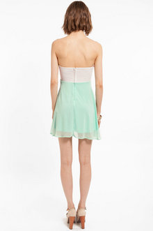 Tia Strapless Dress $35