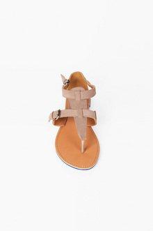 Athena Flat Sandals $25