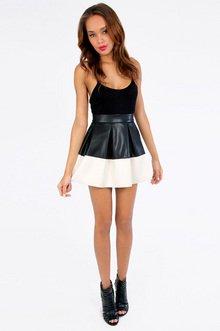 Half and Half Skirt $30