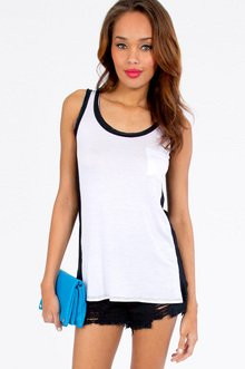 On The Side Lines Tank $21