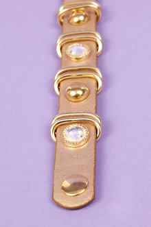 Rocks and Studs Bracelet $8