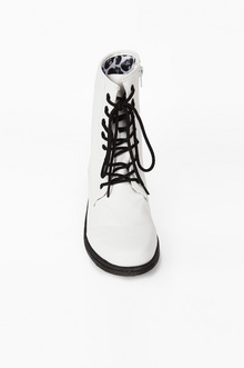 Missile Lace Up Combat Boots $40