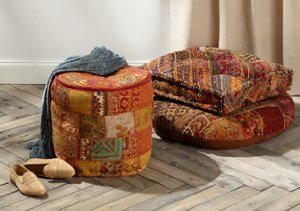Eclectic Home: Patchwork Furniture