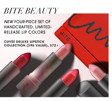 New four-piece set of handcrafted limited-release lip colors