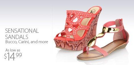 Sensational sandals