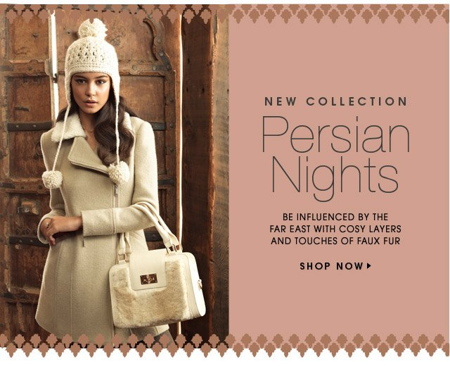 NEW COLLECTION PERSION NIGHTS