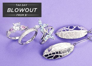 Spring Silver Jewelry Deals from $1