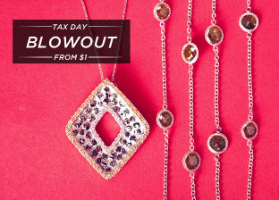 Gold Jewelry Blowout from $1