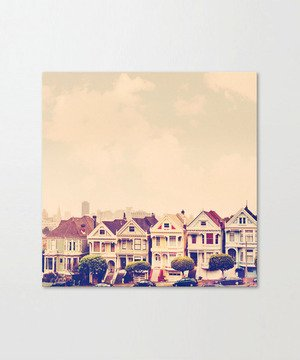 Darling do come see us! San Francisco Painted Ladies photograph